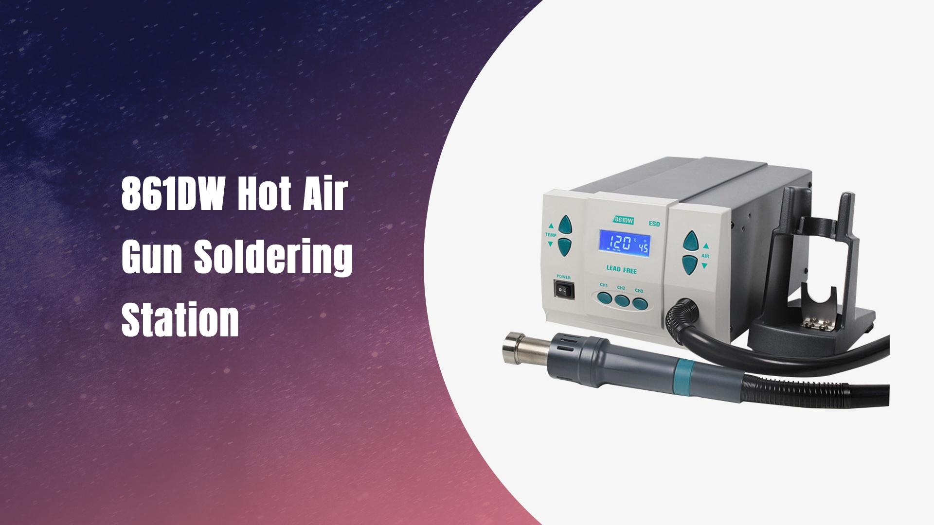861DW stasiun solder pistol udara panas