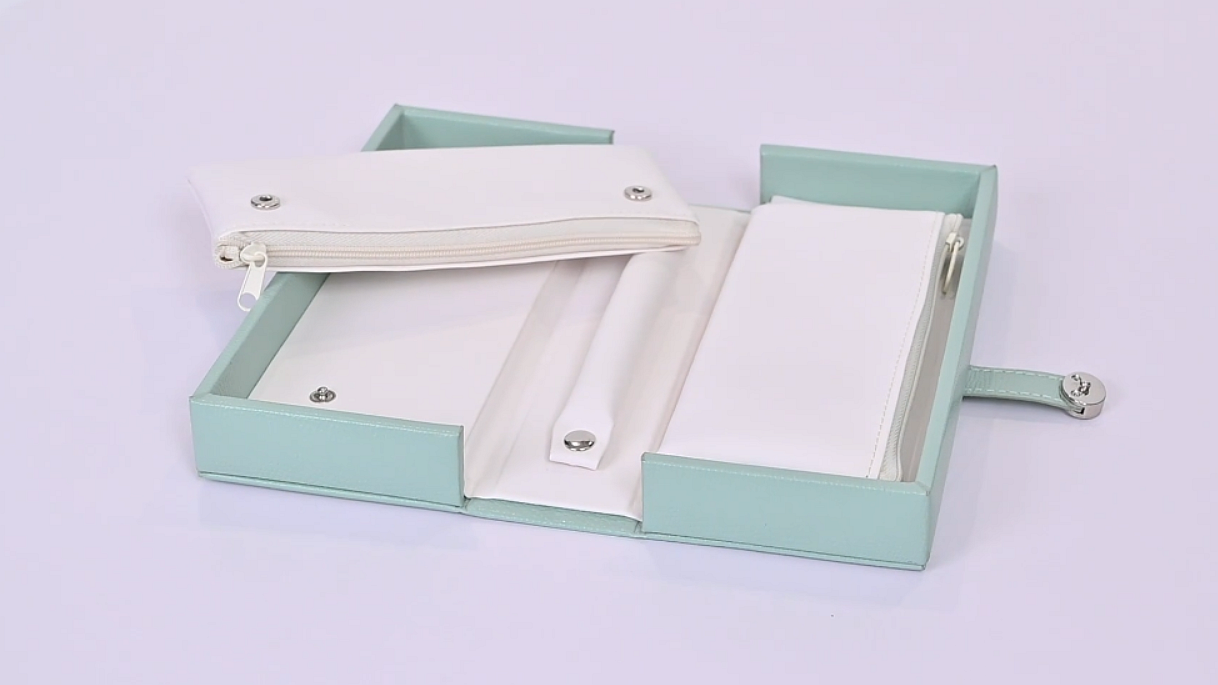 Wholesale regalo de embalaje caja de cartón de cuero joyería caja de perfume -ckt