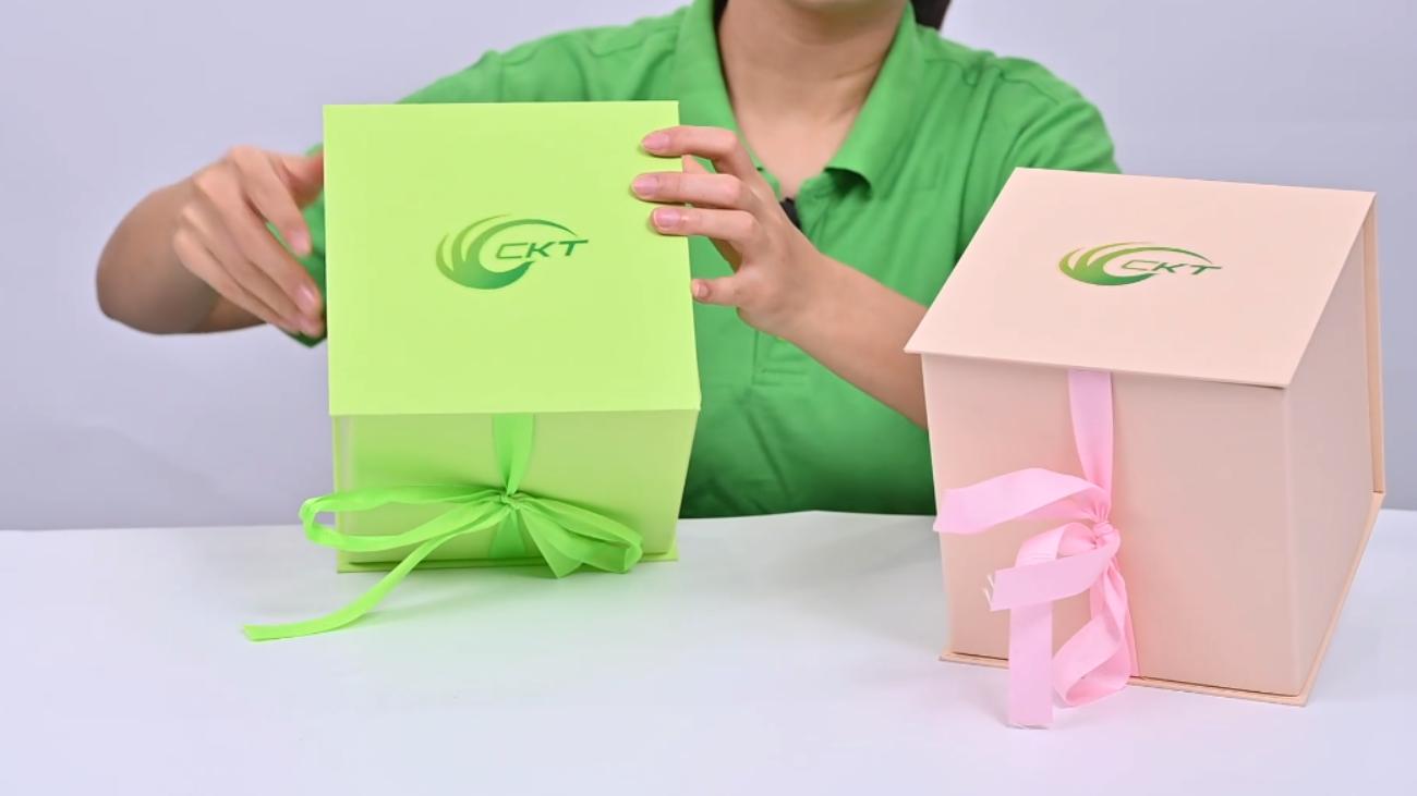 CKT Fiore regalo confezione confezione regalo rigido scatola di presentazione all'ingrosso