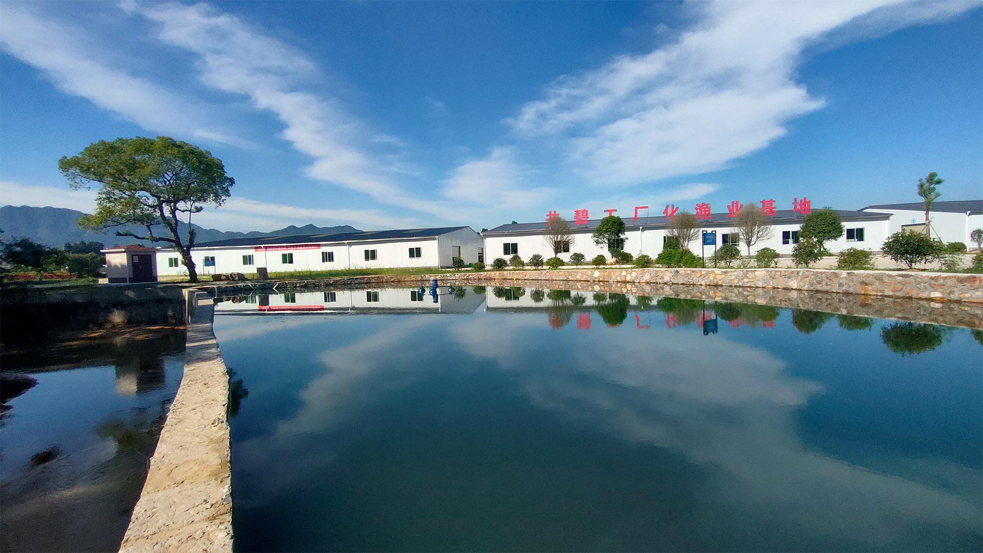 Deco RAS приложение в JB внутренней рыбной ферме, Цзянси