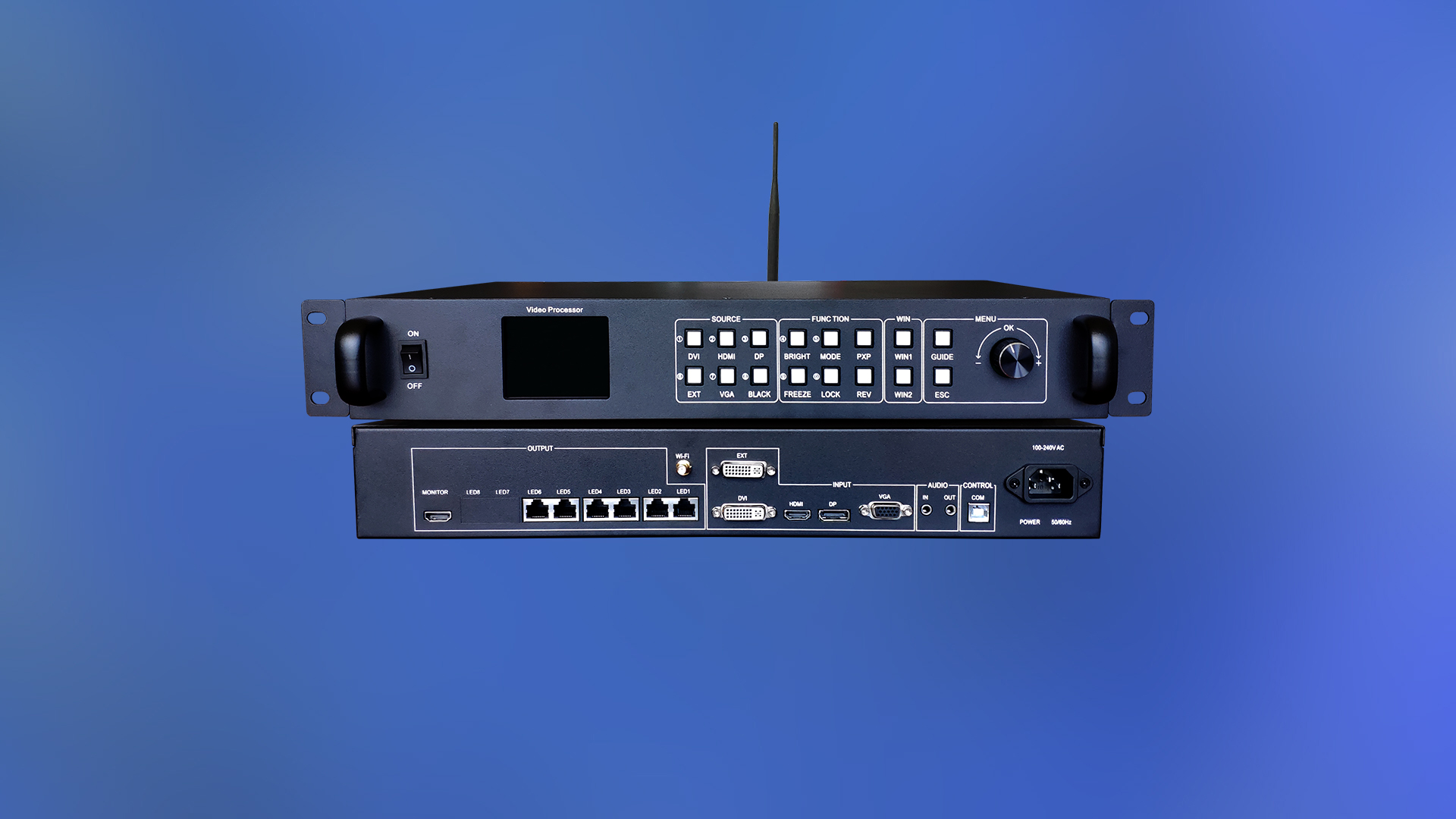 האיכות הטובה ביותר All-in-One LED קיר בקר HD-VP620
