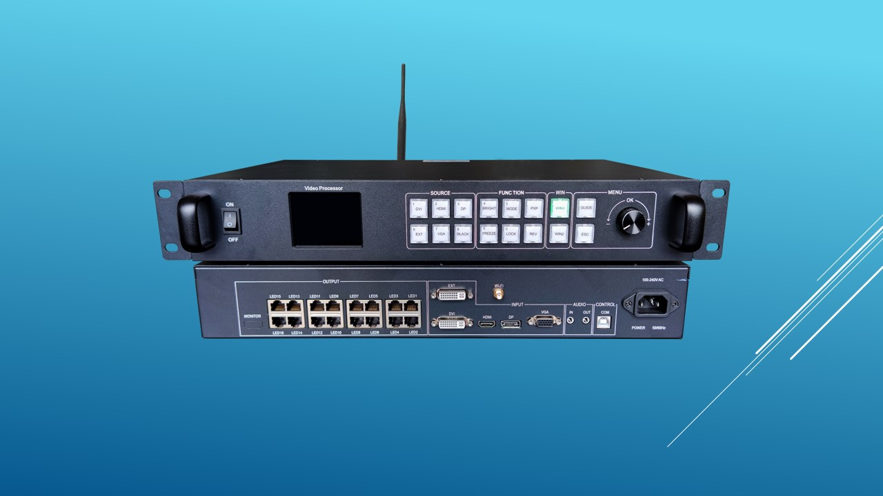 """All-in-One LED להציג בקר HD-VP1620 - שנזן Huidu טכנולוגיה ושות 'בע""""מ"""