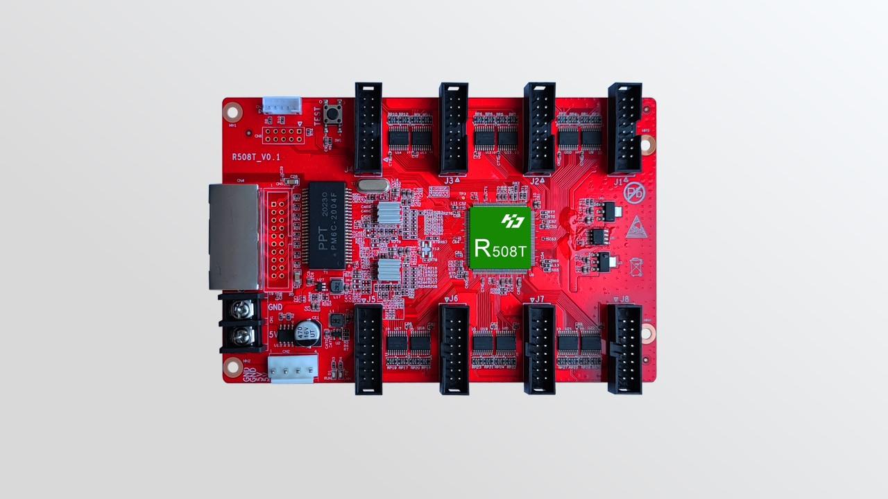 تلقي بطاقة HD-R508T لعرض LED بالألوان الكاملة