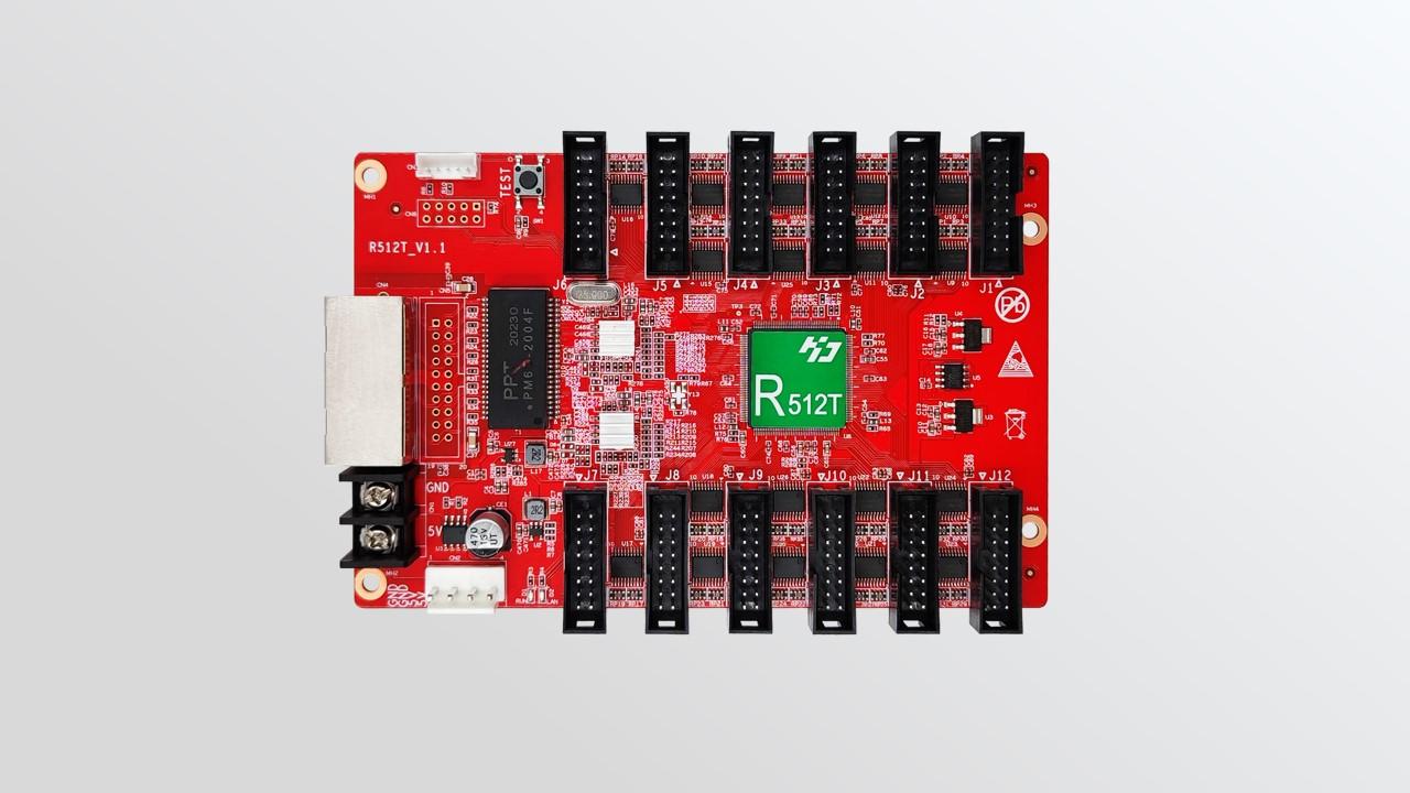استقبال بطاقة HD-R512T لعرض LED بالألوان الكاملة - Shenzhen Huidu Technology Co.، Ltd