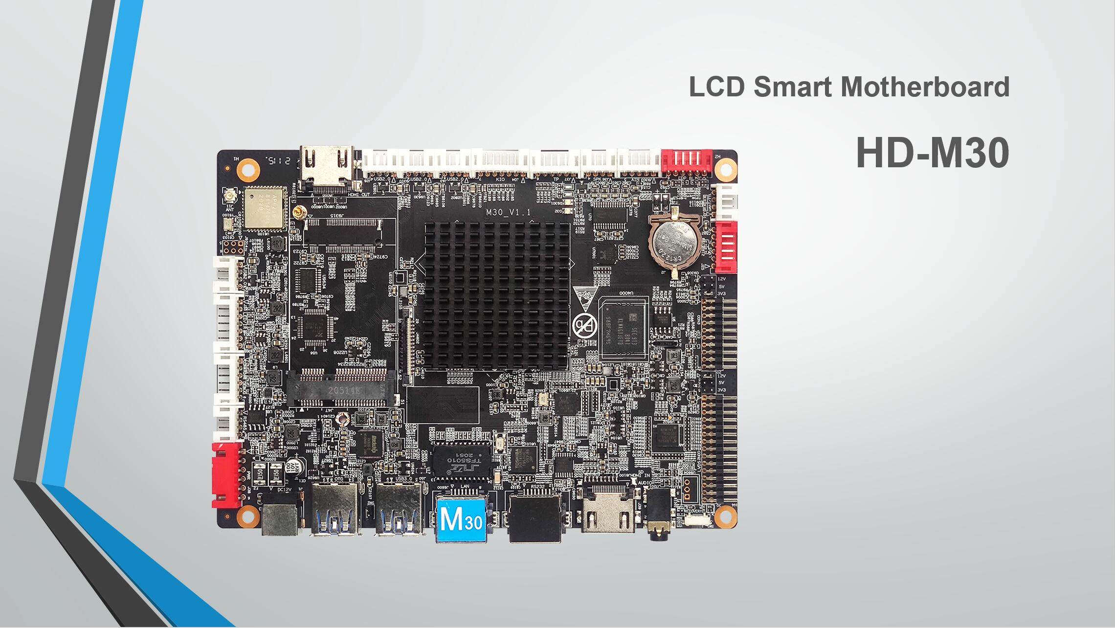 AI artificial intelligence LCD Digital signage Android Controller Motherboard HD-M30