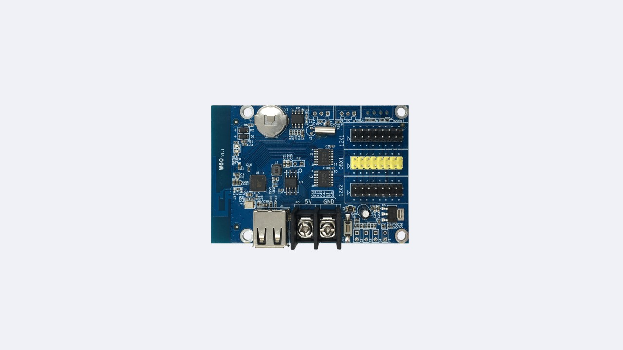 Single-dual LED control card HD-W60 - Shenzhen Huidu Technology Co., Ltd