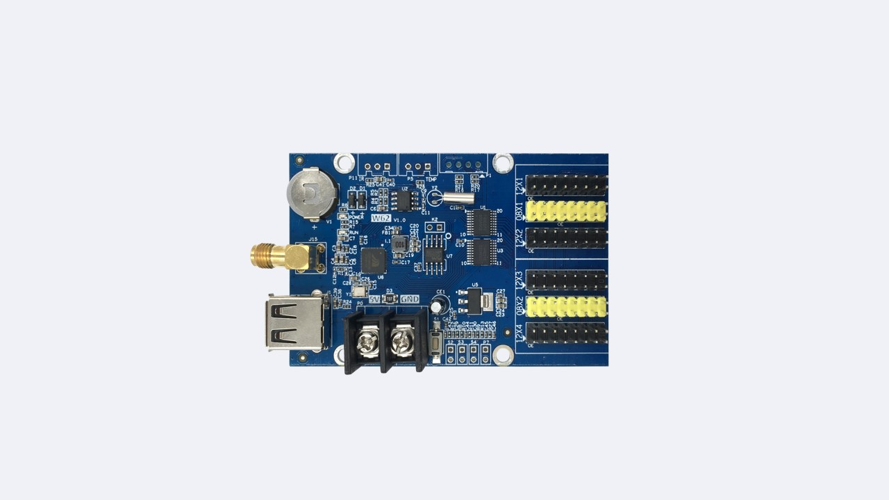 Single-dual LED control card HD-W62 - Shenzhen Huidu Technology Co., Ltd