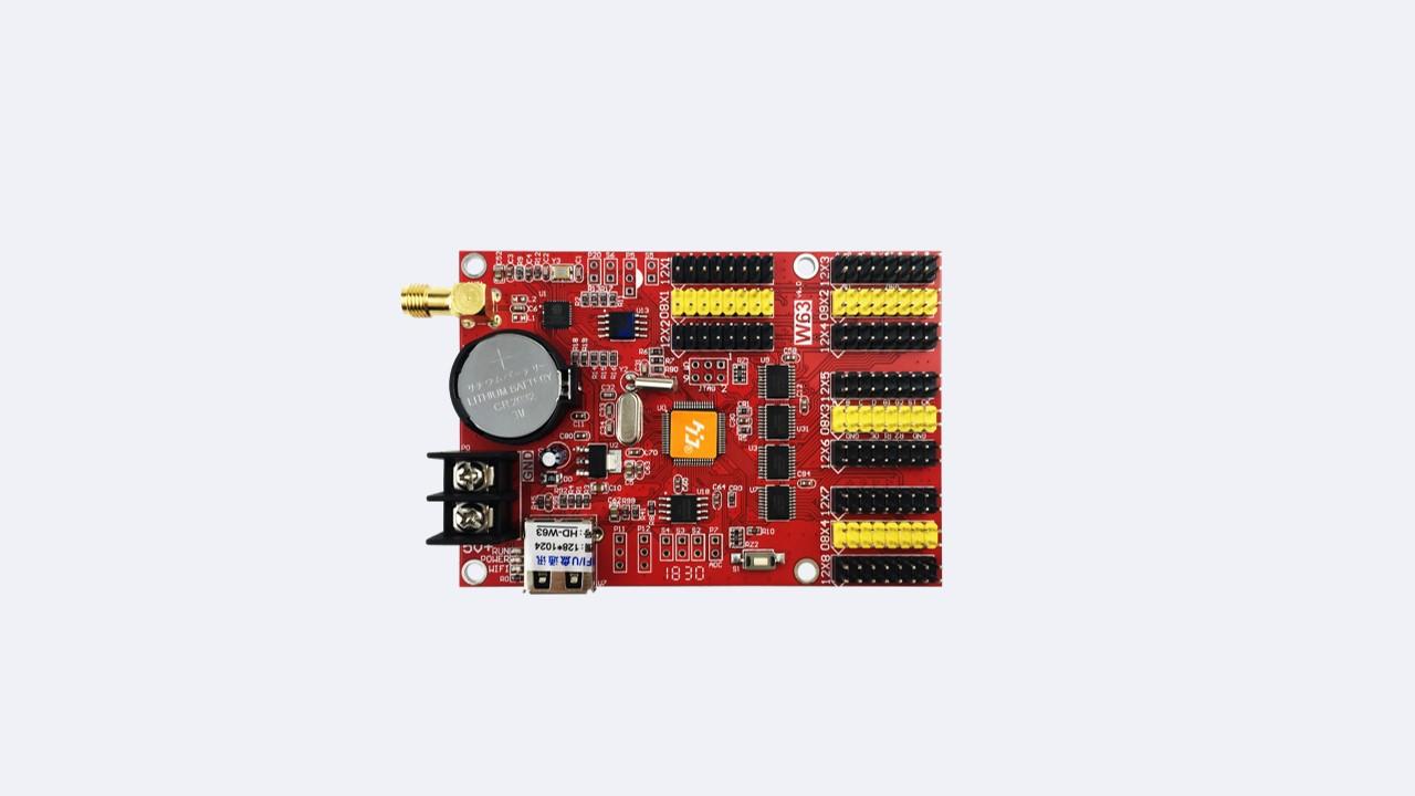 Single-dual LED control card HD-W63 - Shenzhen Huidu Technology Co., Ltd