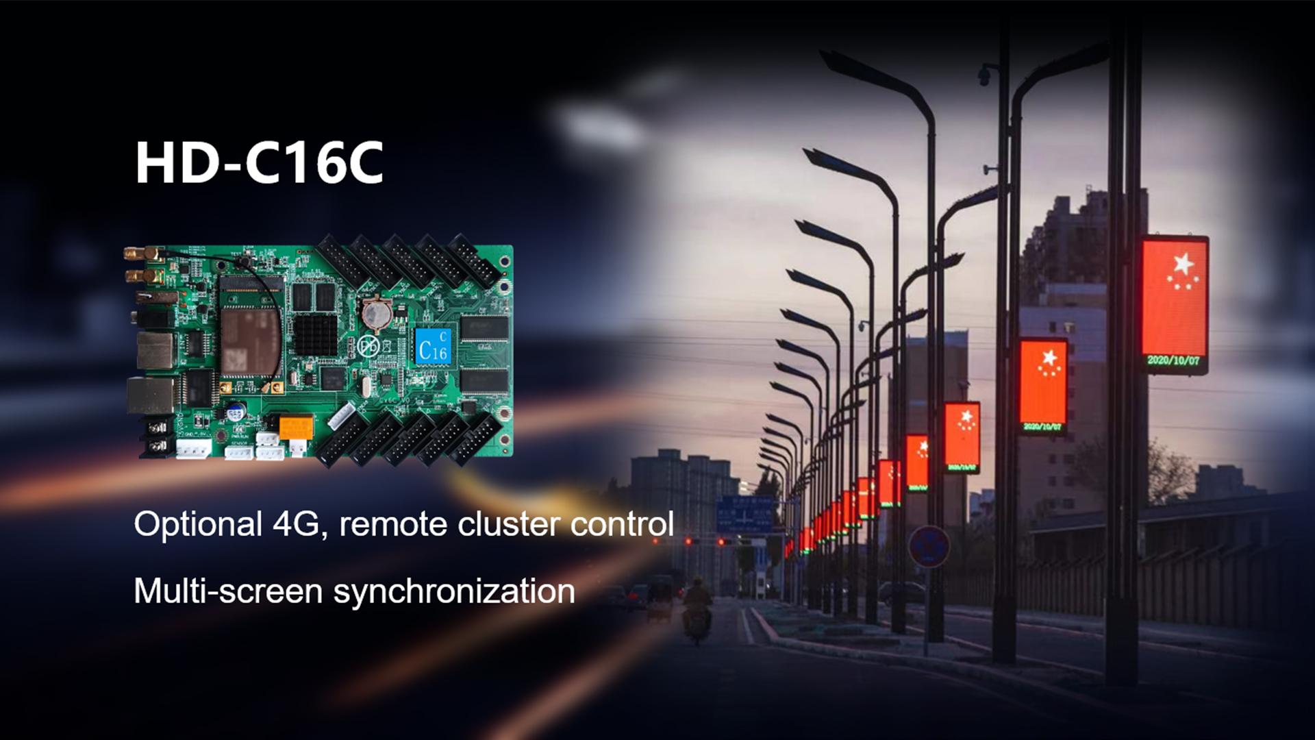HD-C16C Arbeiten für LED-POLS-Bildschirm