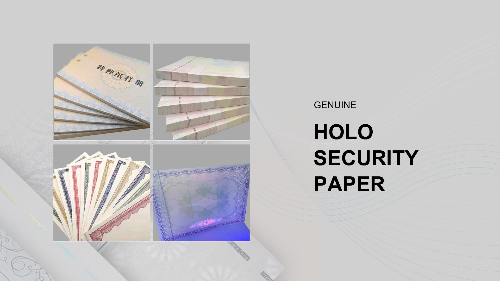Genuine Security Paper Case02