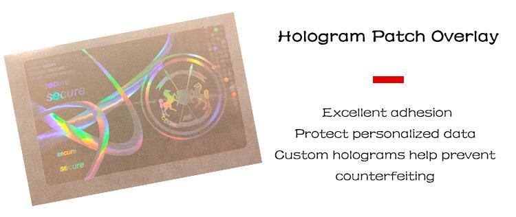 Best Customized PET Material Transparent Hologram decorative logo sticker Film Factory Price - Genuine Hologram