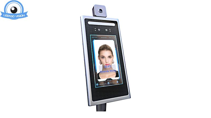 Scanner de la température du visage Reconnaissance du visage Caméra de thermomètre de la température corporelle pour le bâtiment hors-terrain Covid-19 Fever Personnes Flaning