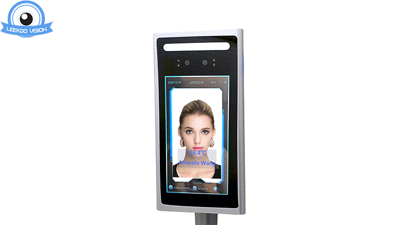 Long Distance Dynamic Live Facial Recognition Door Access Control Time Attendance Clocking Recorder Tablet Camera LKG-AIFACE700