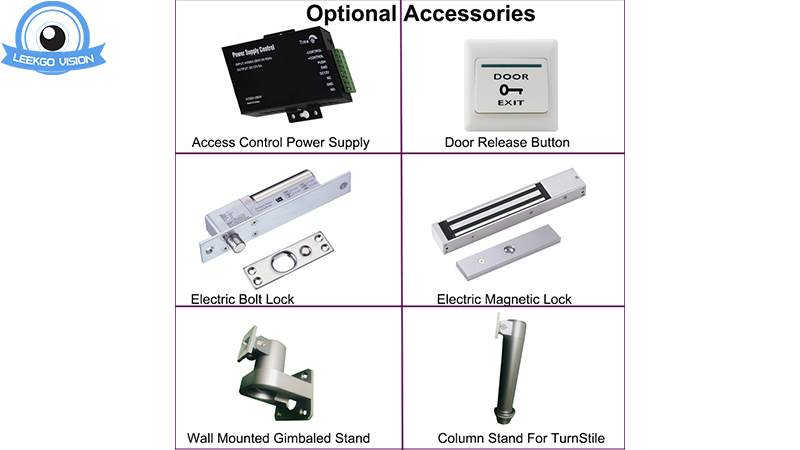 Some Optional Bracket / Stand For LKG-AIFACE Face Recognition Door Access Control Camera