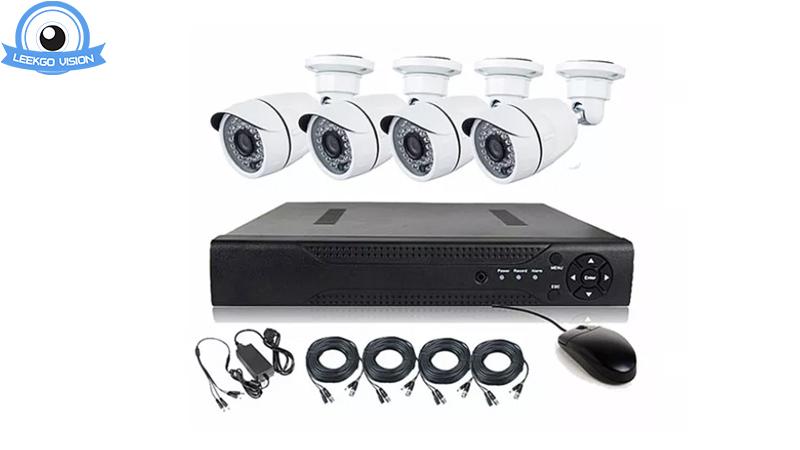 2MP Gesichtserkennung AHD-Kamera-DVR-Set-Überwachungssicherheitssystem Fabrik