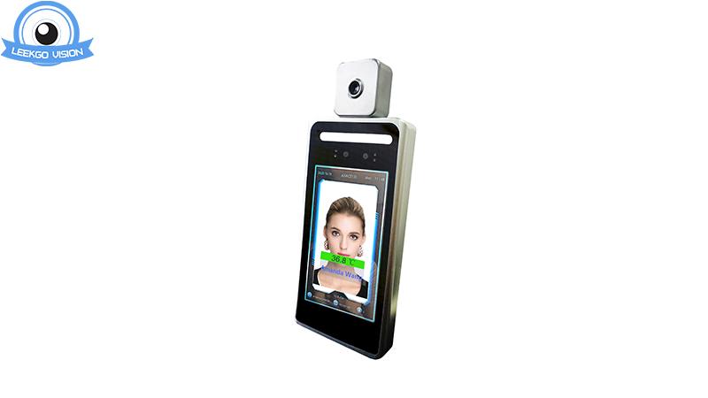 5 بوصة ديناميكية لايف الوجه الاعتراف كاميرا التحكم في الوصول مع قياس درجة حرارة الجسم الأشعة تحت الحمراء