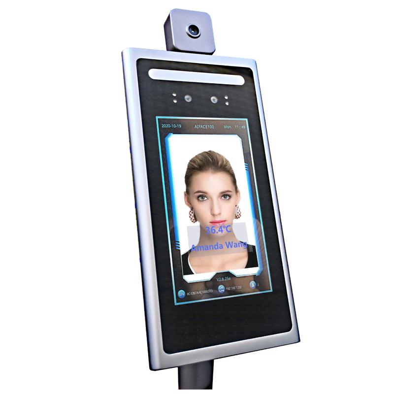 กล้องแท็บเล็ตการควบคุมการเข้าถึงการควบคุมการเข้าถึงใบหน้าแบบไดนามิก