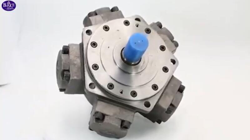 LD-sarjan matala nopeus korkea vääntömomentti säteittäinen mäntämoottori