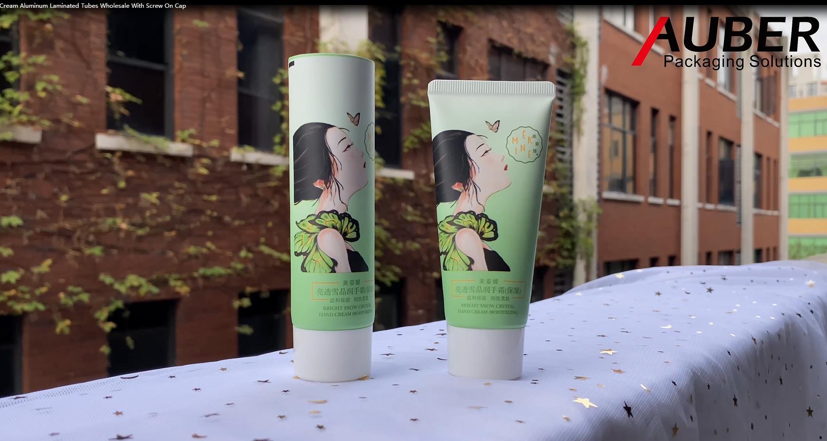 Auber D35mm Hand Cream Aluminum Laminated Tubes Wholesale With Screw On Cap