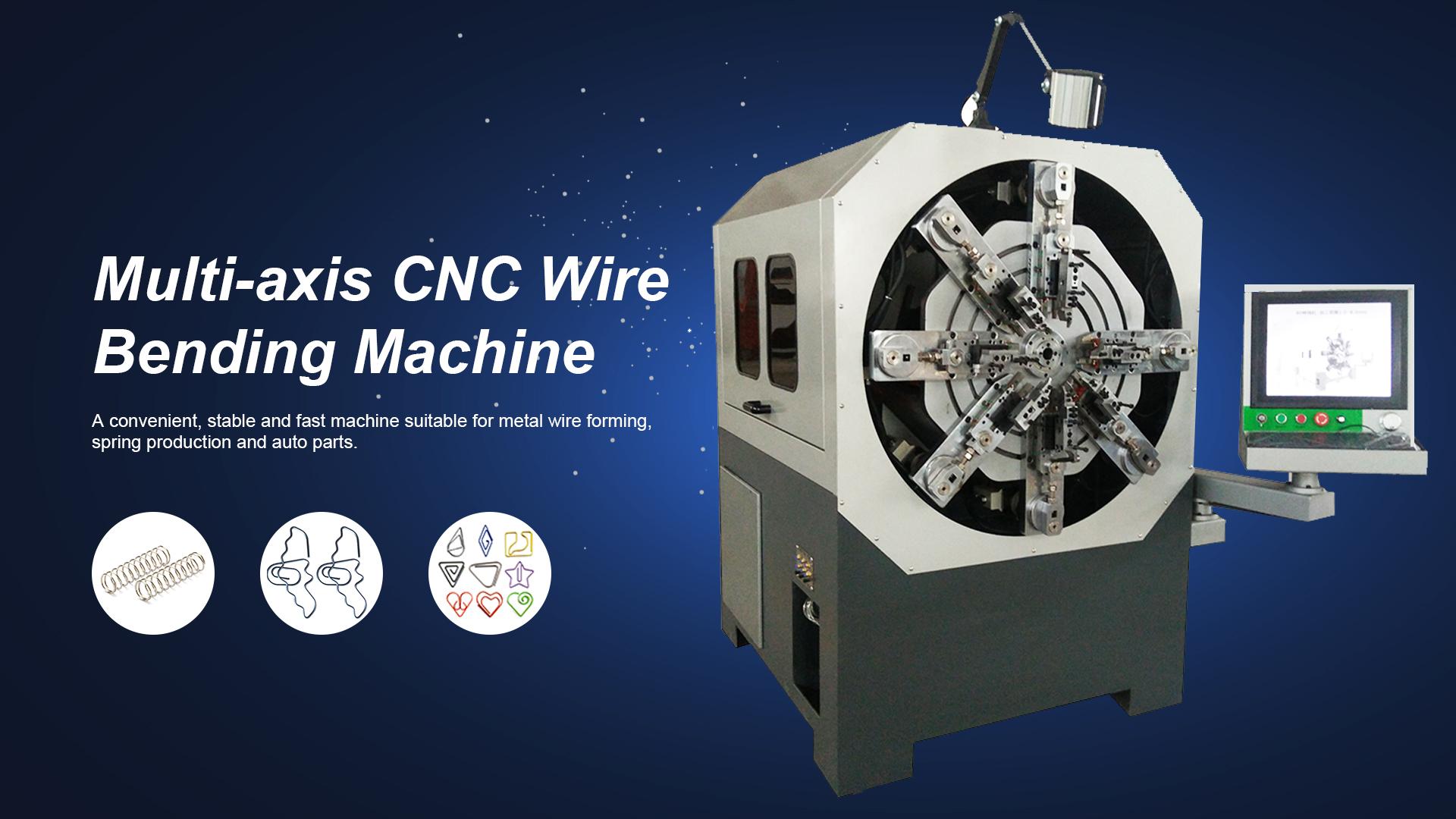 Multi Axis Cam Less CNC Metal Forming Machine
