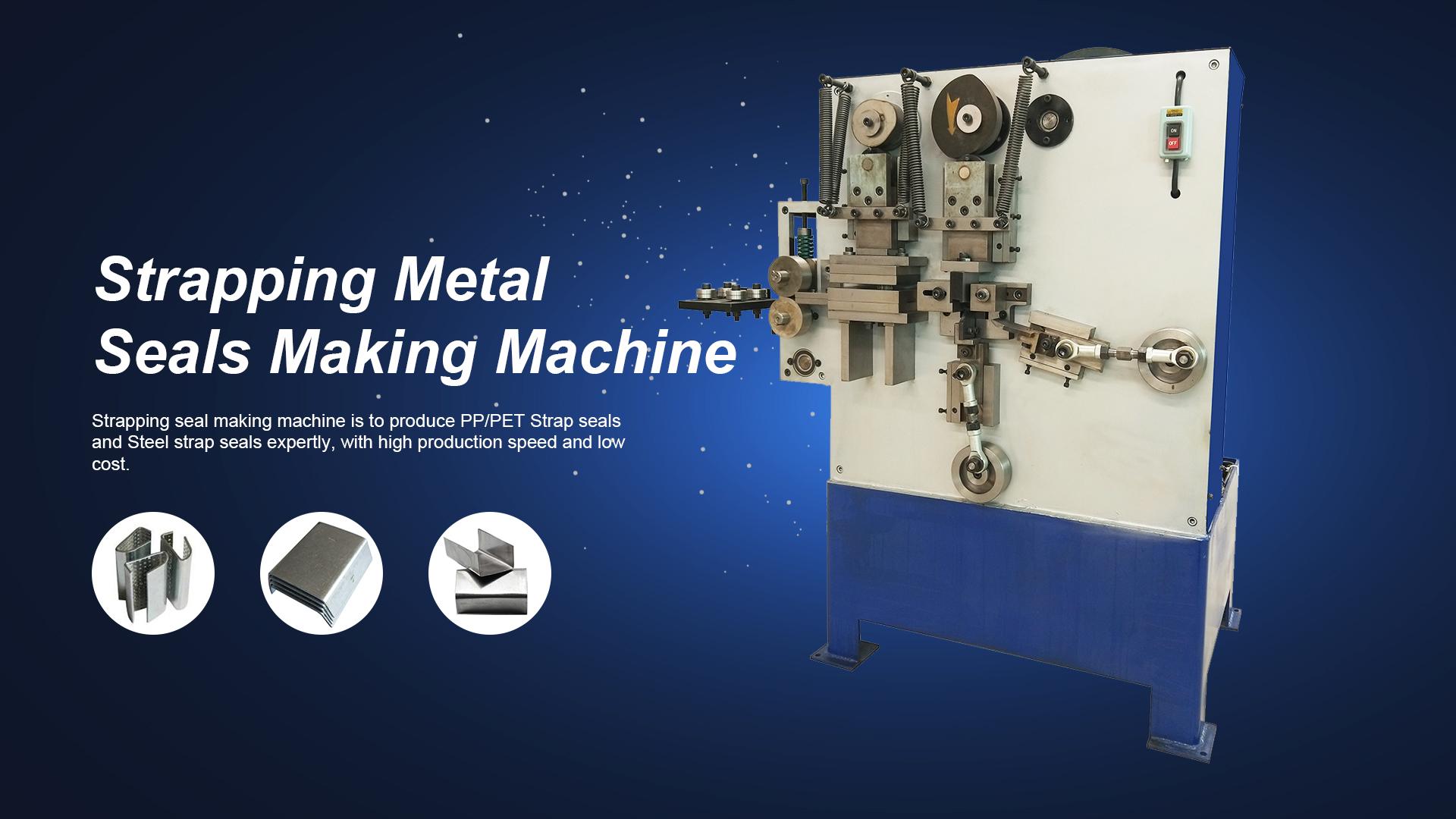 Bir dakikada metal çemberleme mühür yapım makinesini anlama