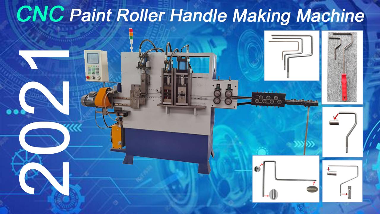 Punho de rolo de pintura CNC personalizado fazendo máquina (2021) Fabricantes da China