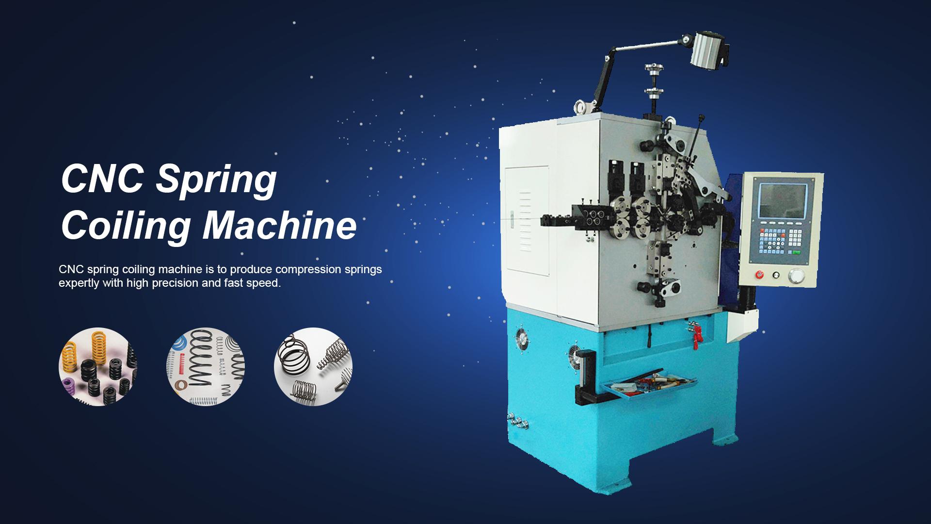 専門のカスタマイズされたCNCスプリングコイリングマシン(2021) -  XinSheng Machine