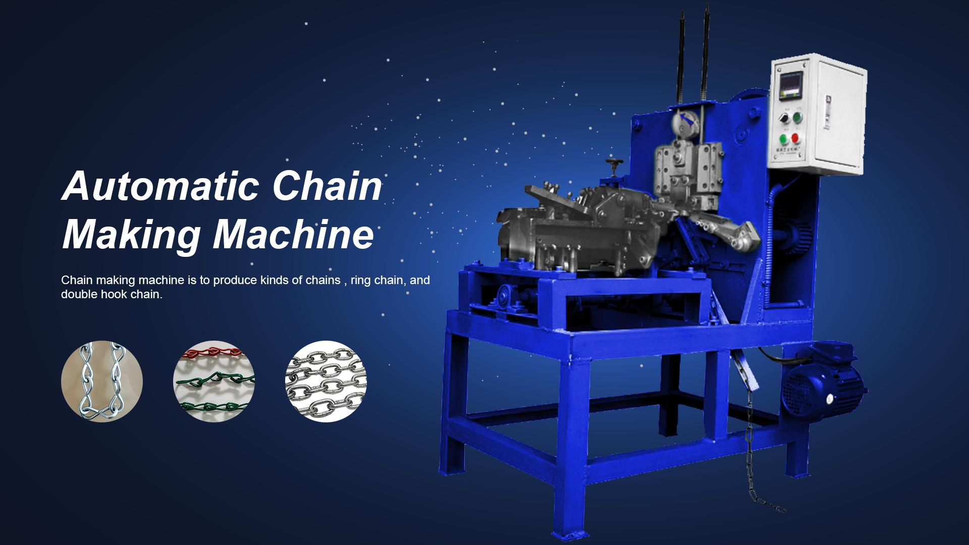 Máquina de fabricación de cadenas automáticas - máquina Xinsheng