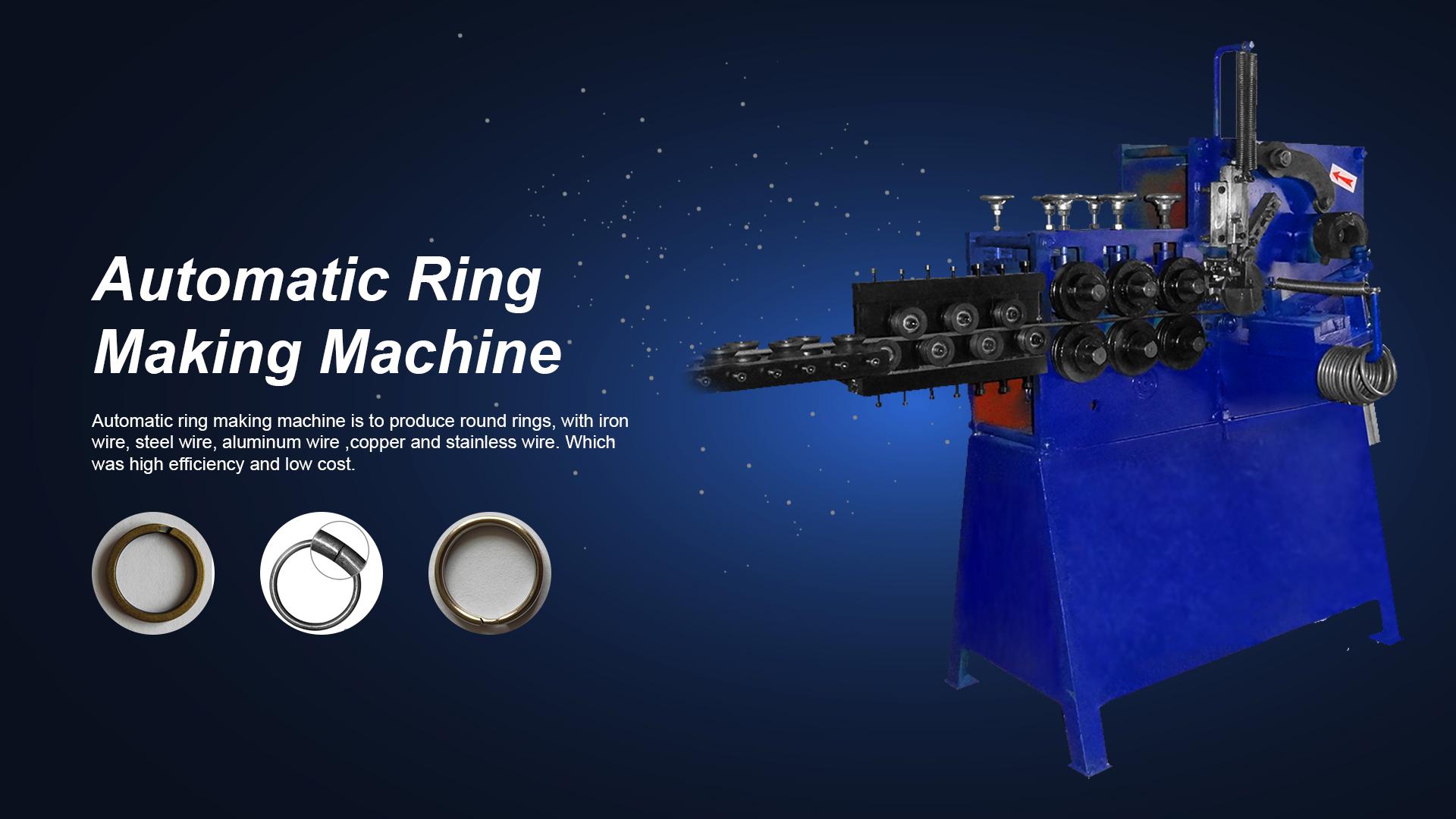 Máquina automática de fabricación de anillos - Máquina Xinsheng
