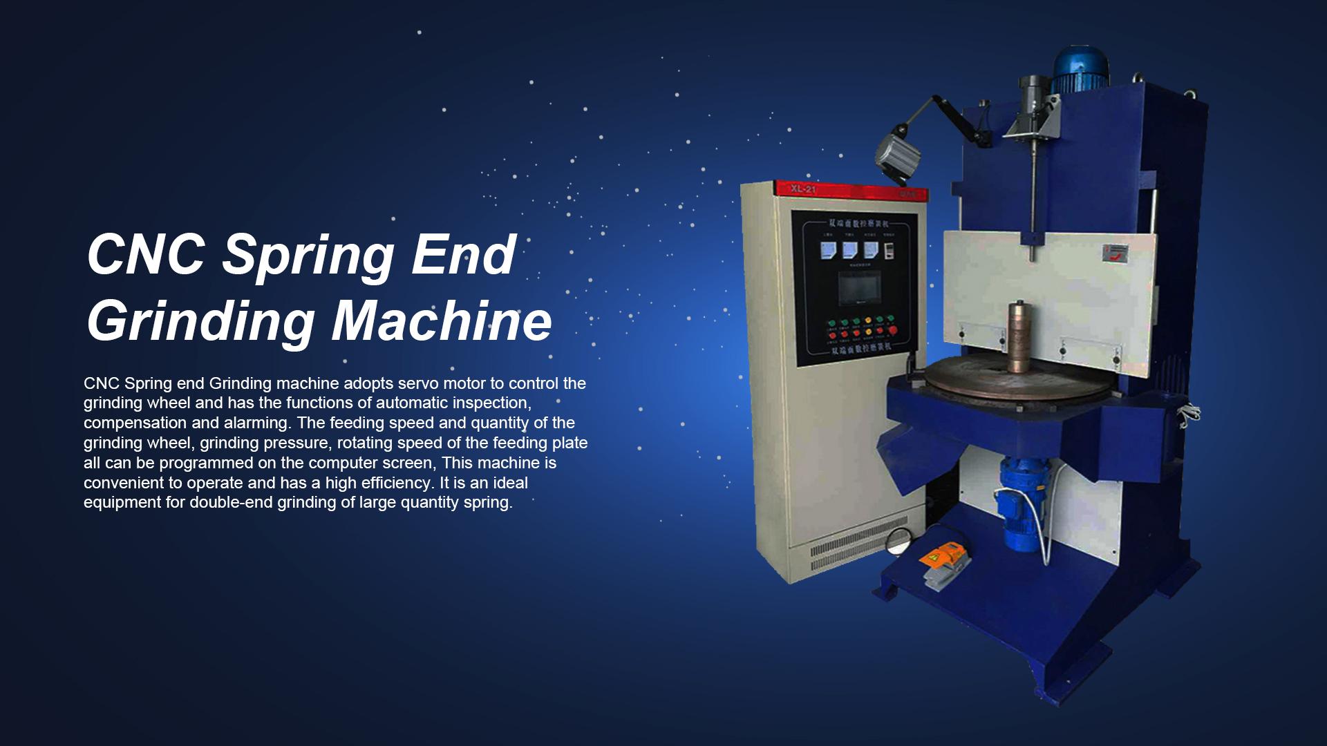 آلة طحن الربيع CNC