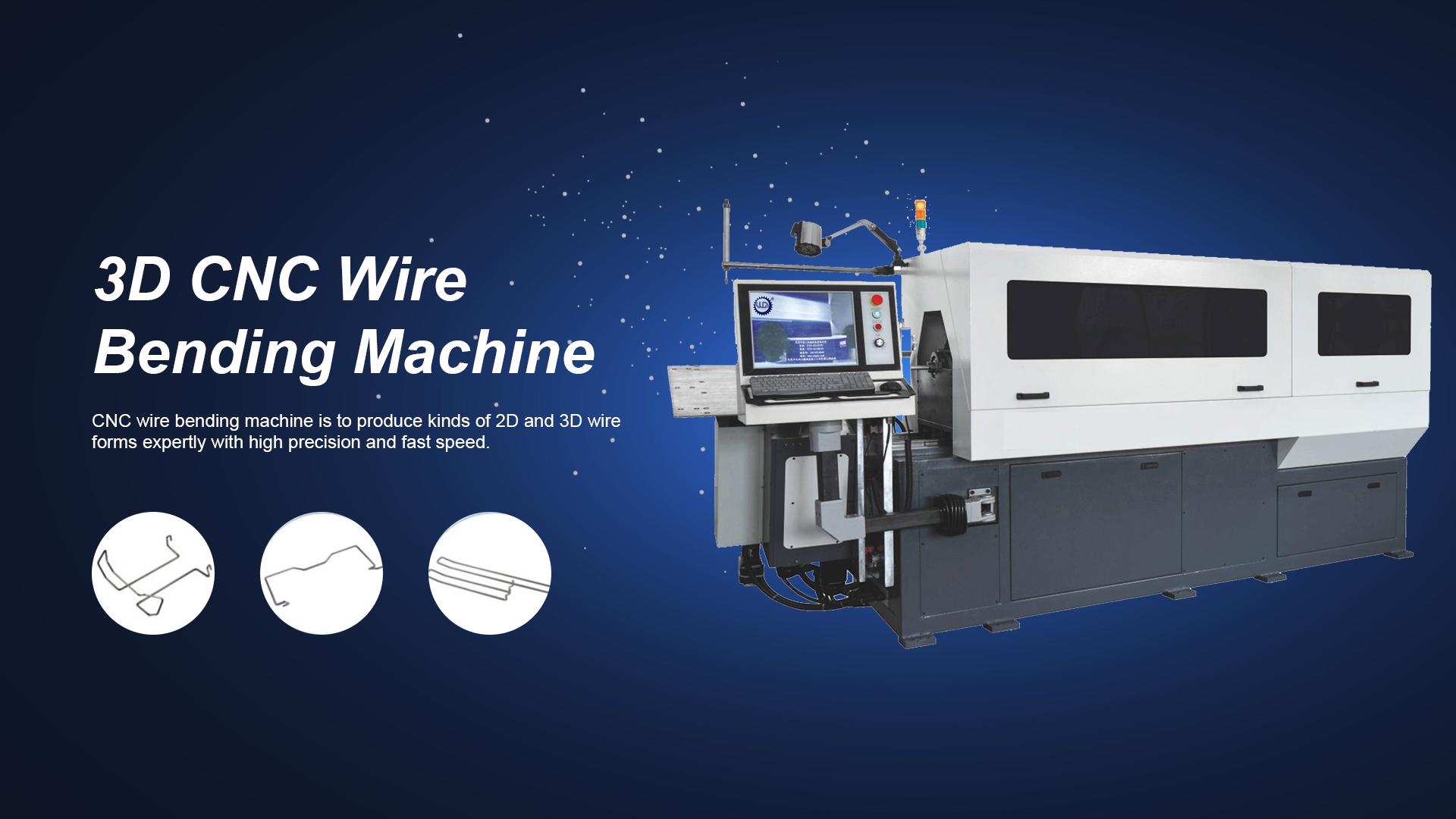 آلة الانحناء سلك GT-WB100-9A (2021)