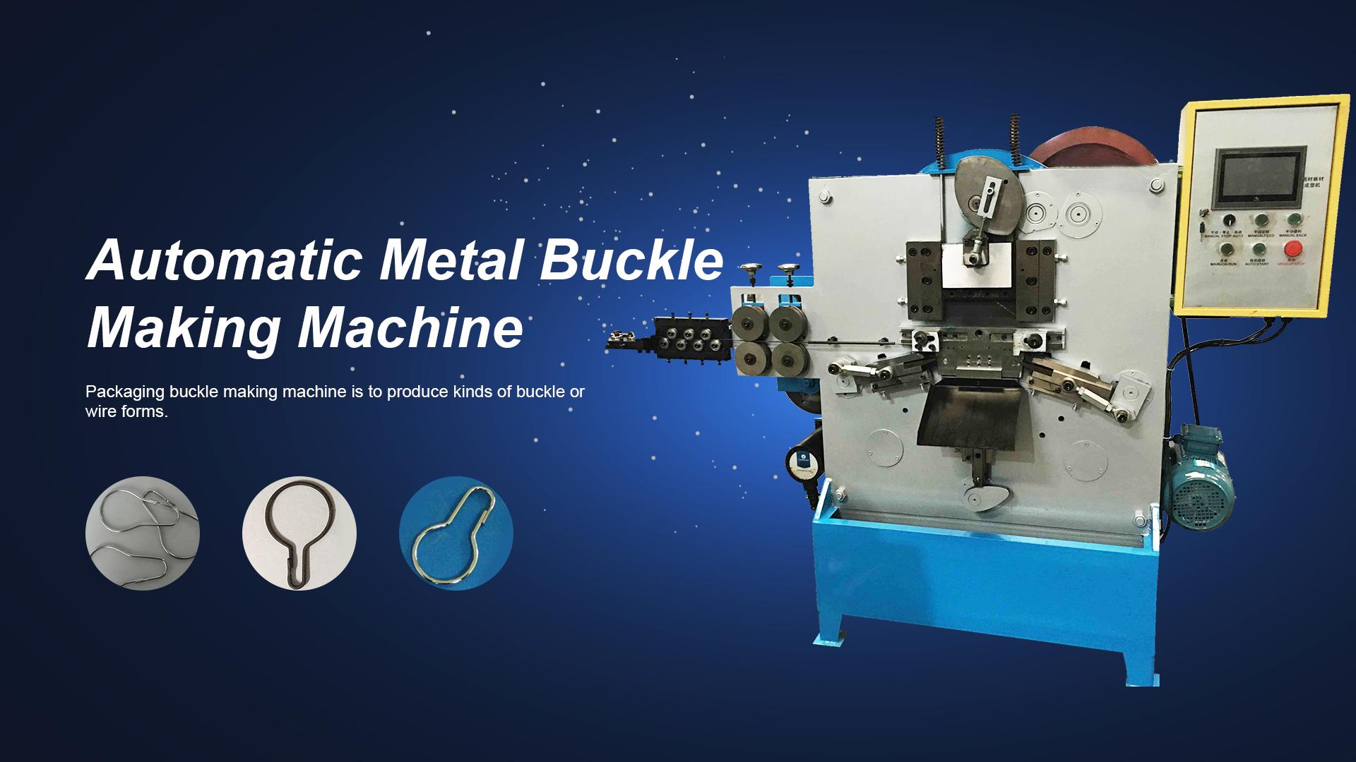 Mesin pembuat gesper logam otomatis