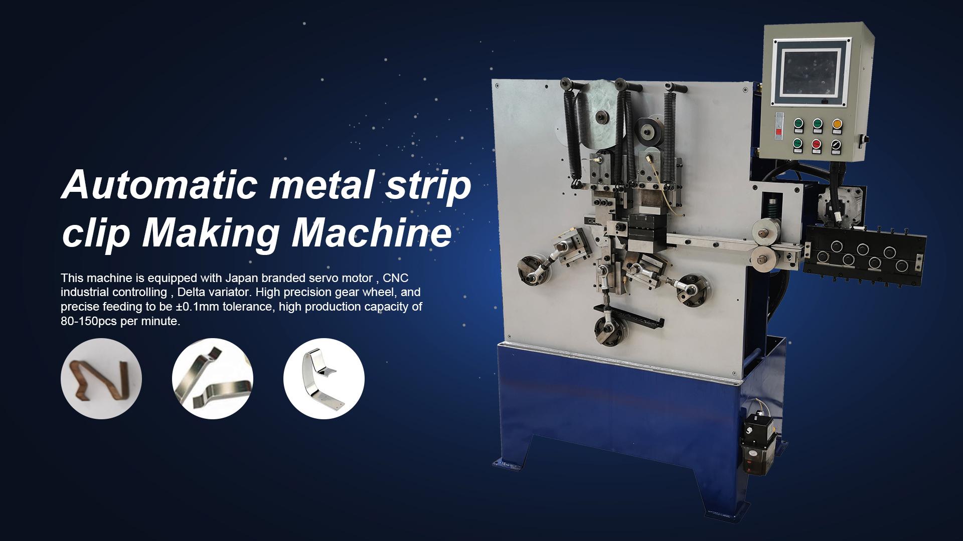 Máquina automática profesional del clip de la tira del alambre de acero del alambre automático Fabricantes