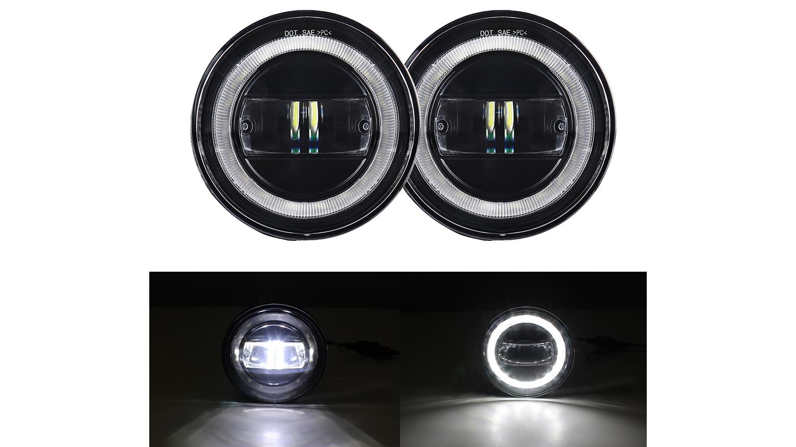Assemblaggio della fendinebbia a LED con DRL per Tacoma 2005-2011 / Tundra 2007-2012 / Solara 2004-2006 Paraurti Driving fendinebbia