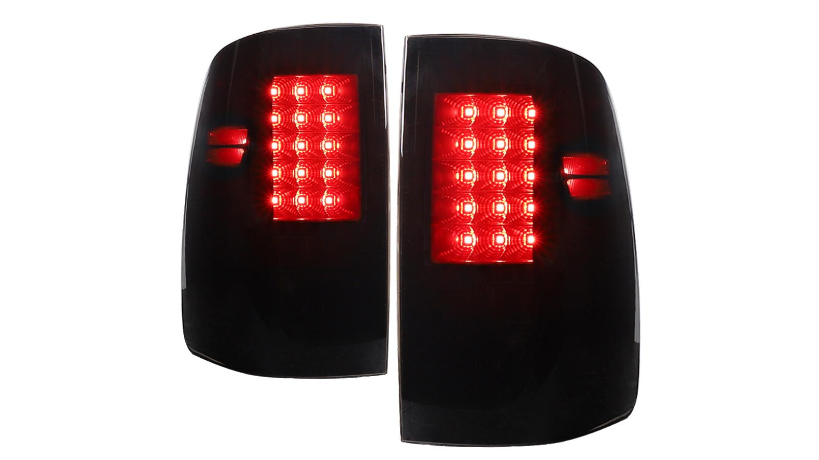أداء الدخان LED الفرامل الأنوار للفترة 2009-2018 دودج رام 1500 2010-2018 رام 2500 3500