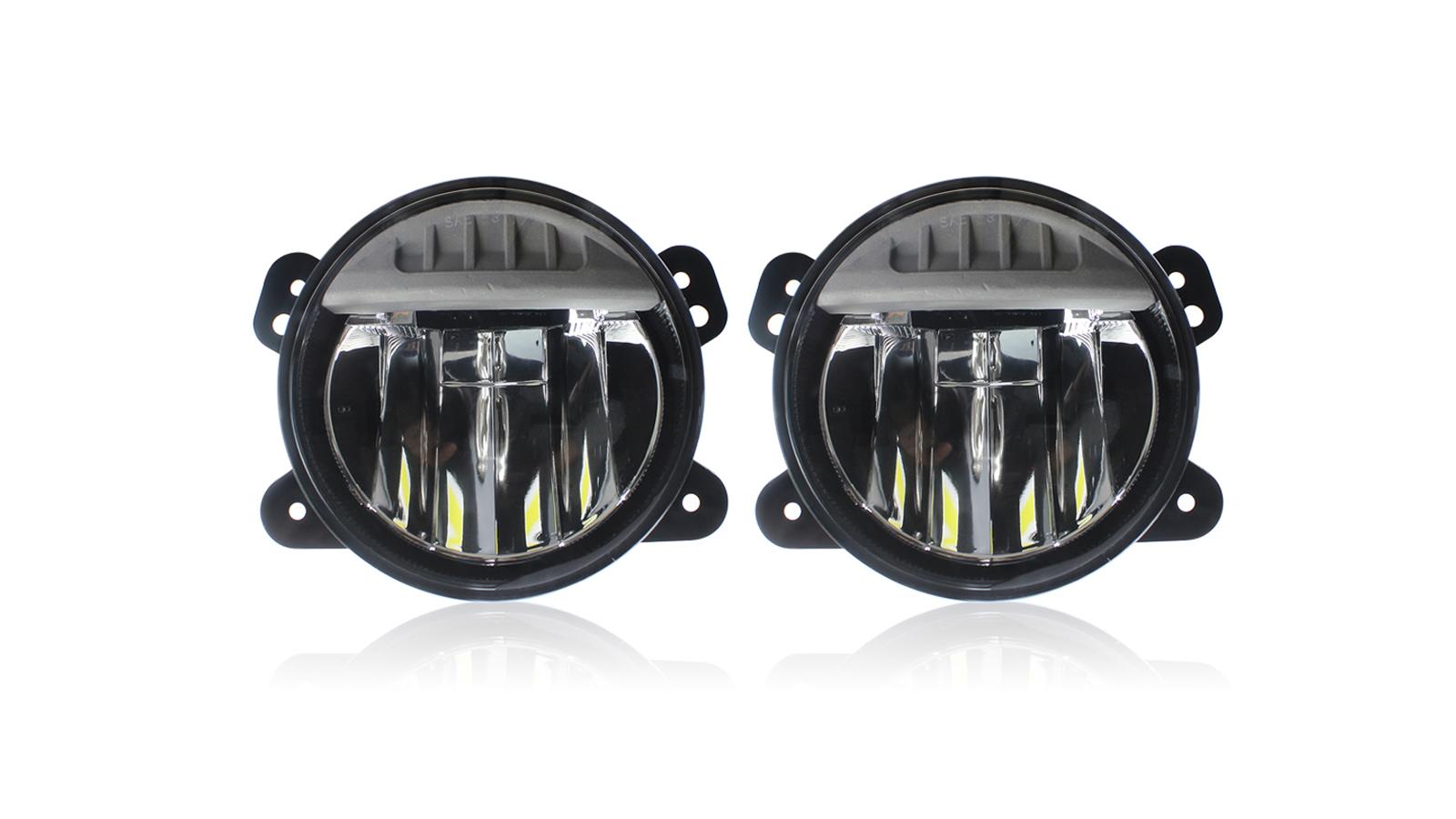 مطورة LED الضباب أضواء مصباح الوفير متوافق مع 2018-2020 جيب رانجلر JL