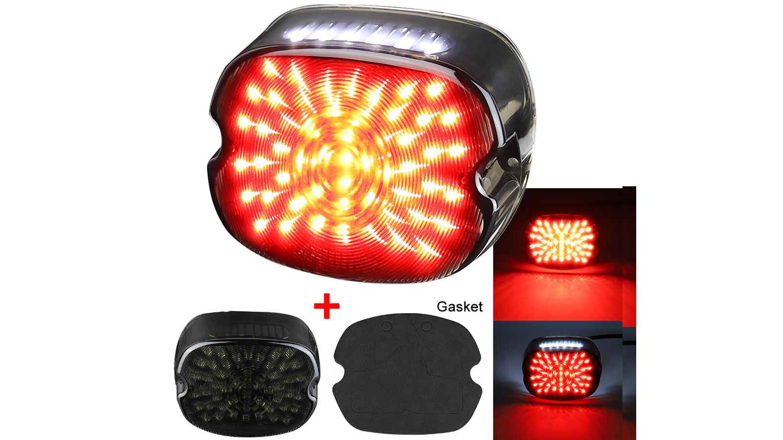 LED الذيل ضوء الفرامل الصمام تشغيل المصابيح الخلفية المصابيح الخلفية متوافقة مع هارلي - قوانغتشو أوكما كهروضوئية CO ،. المحدودة