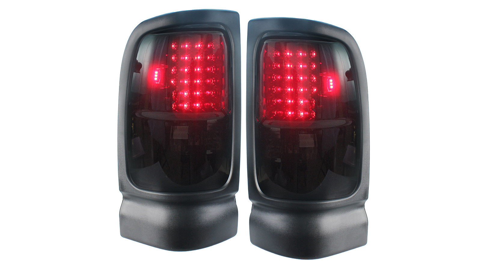 Smoke Tail Light Lamp for 1994-2001 Dodge Ram 1500 1994-2002 Dodge Ram 2500 3500
