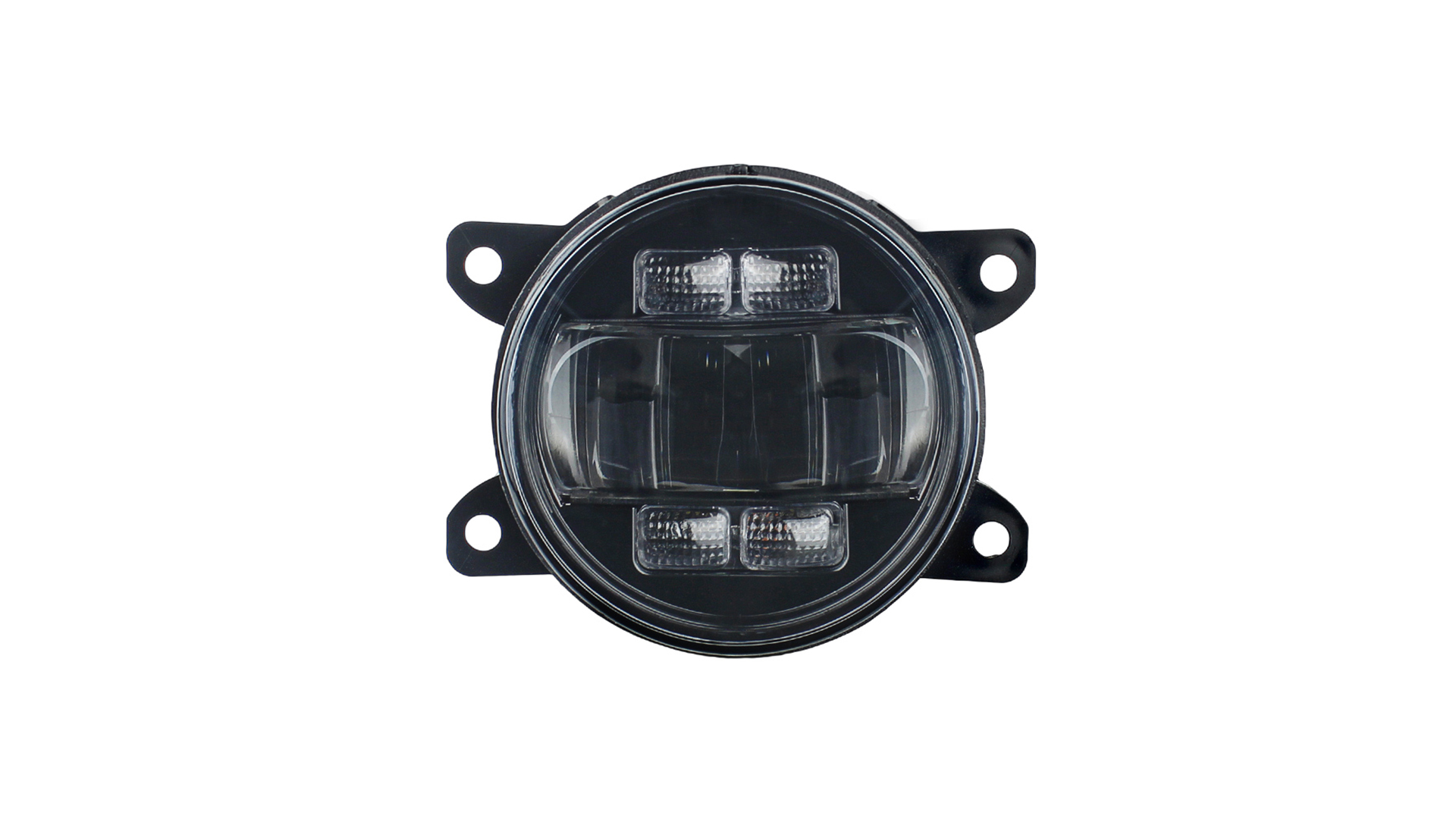 30w Led Fog Light Driving Lamps with White DRL Amber Turn Signal for Universal Models