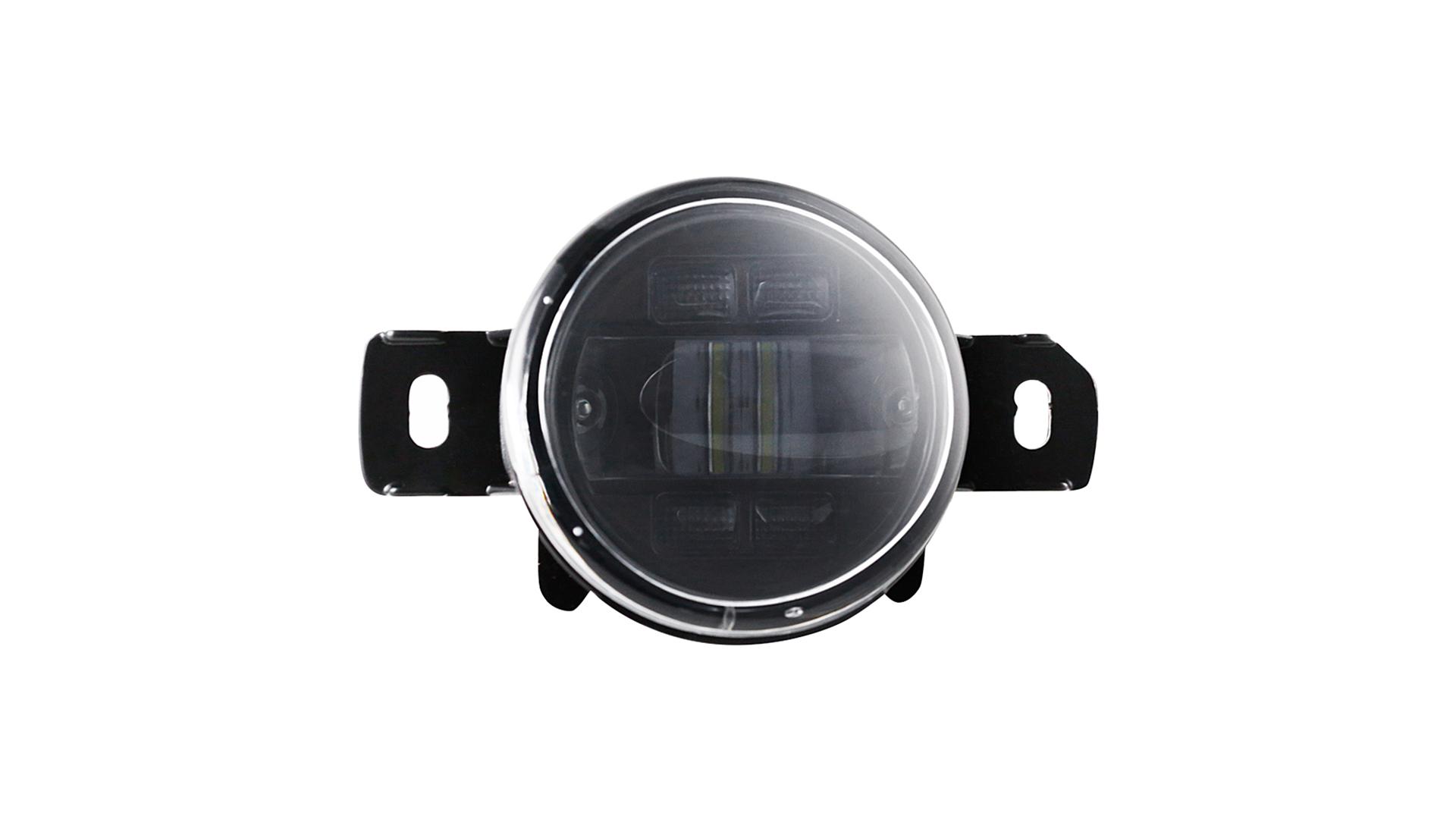 30w Led Fog Light Driving Lamps with White DRL Amber Turn Signal Kit For Nissan Teana Duke 2008-2015