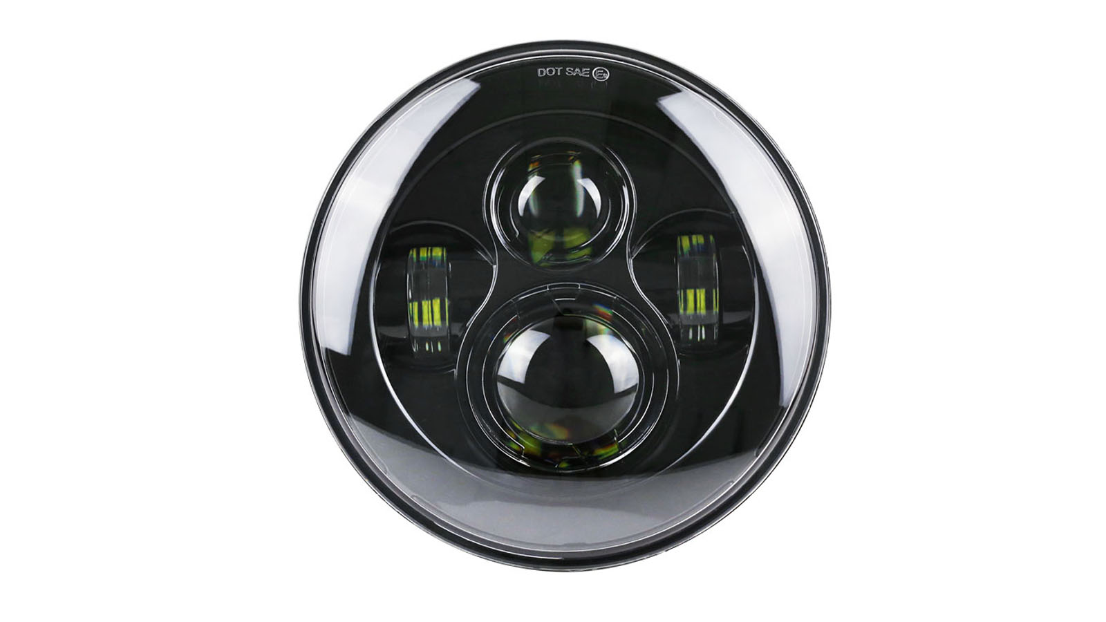 7 Inch Motorcycle Projector Daymaker Led Headlight For Harley 6500K Super Bright Led Light