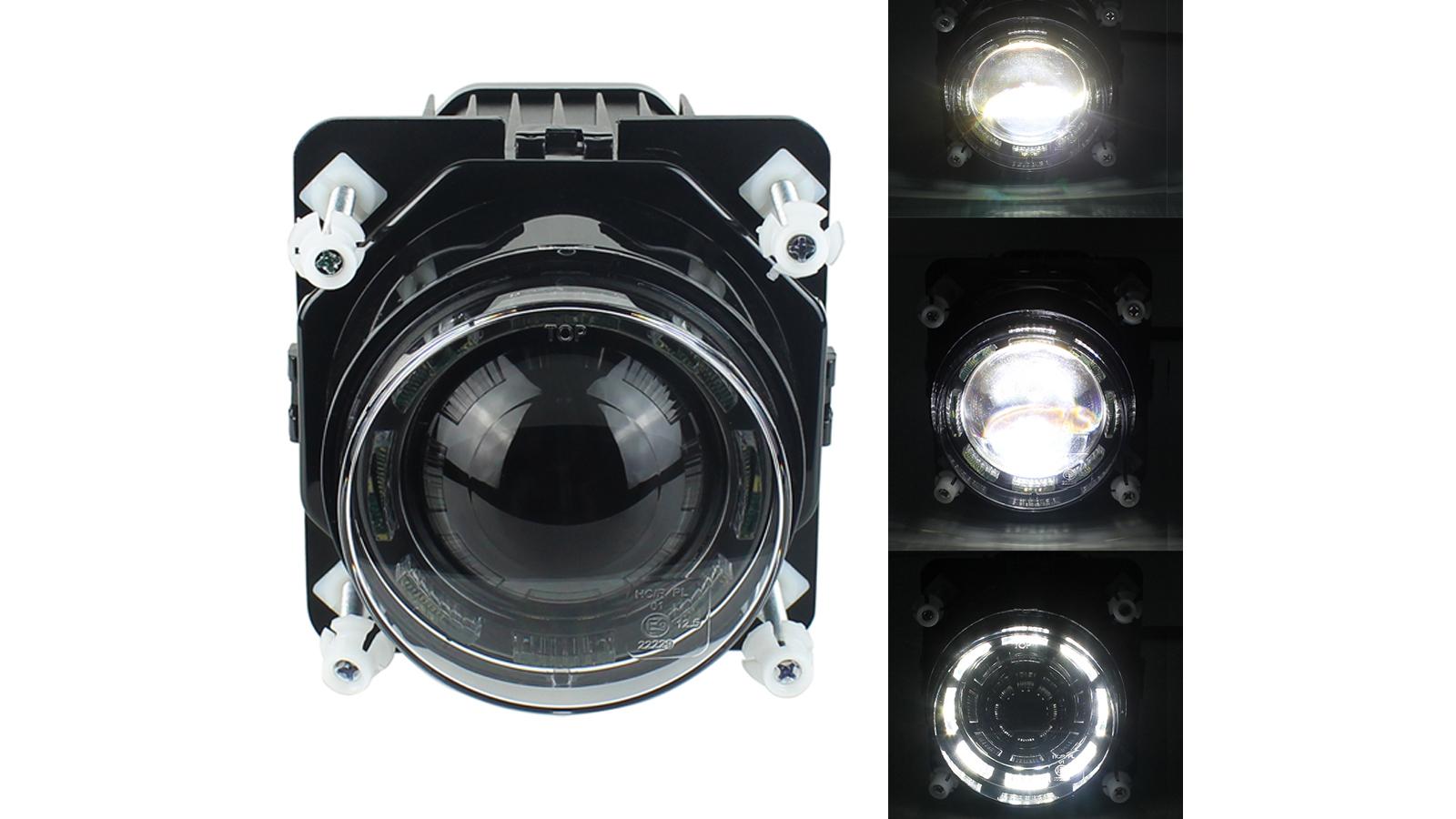 カスタマイズされた90mm LEDのヘッドライト30W LEDの仕事の運転ランプは、中国からのユニバーサルバスのオートバイの製造業者のための作業灯を導きました