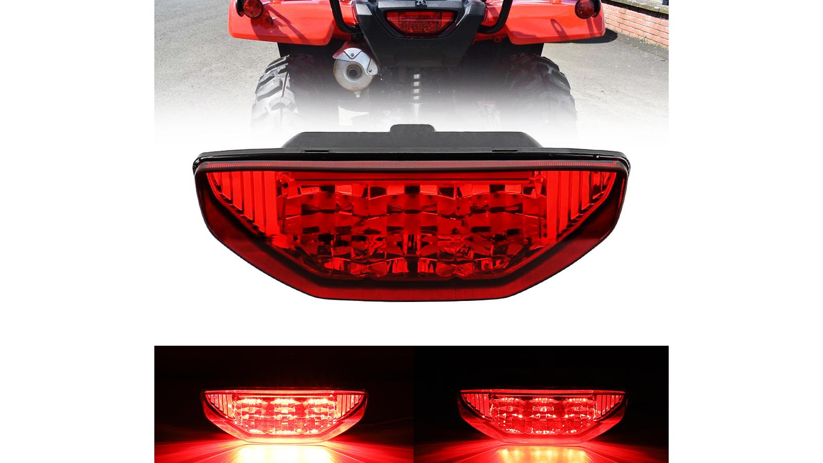 Newest LED Brake Tail Light Braking Lamp for Honda TRX 250 300 400EX TRX400X 500 700