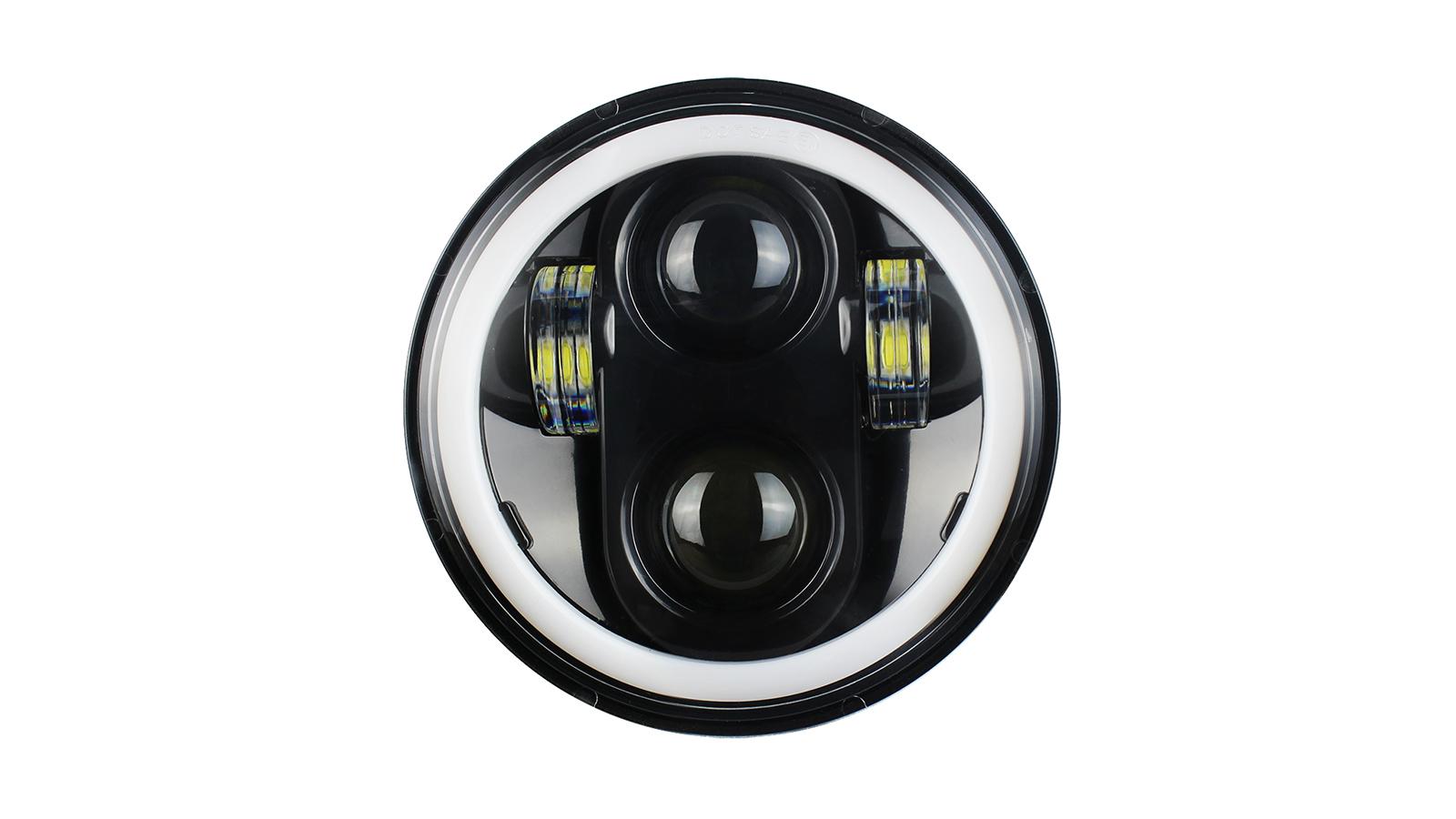 ارتفاع الأسعار شراء أسود 5.75 5 3/4 الصمام العلوي العارض هالة بيضاء ل dyna سبورتستر دراجة نارية