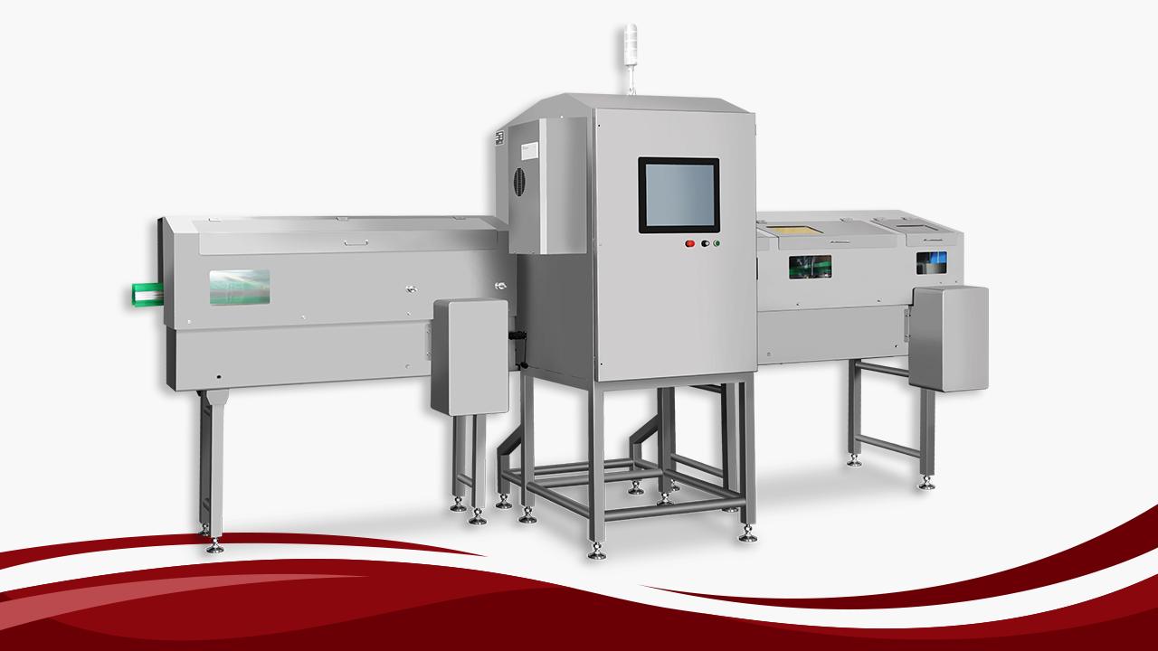 Bote, garapon at lata ng X-ray inspeksyon system