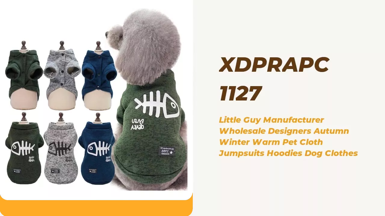 Little Guy Fabricante al por mayor Diseñadores de otoño invierno Cálido Pet Pet Paño Monumentos Sudaderas con capucha Ropa de perro
