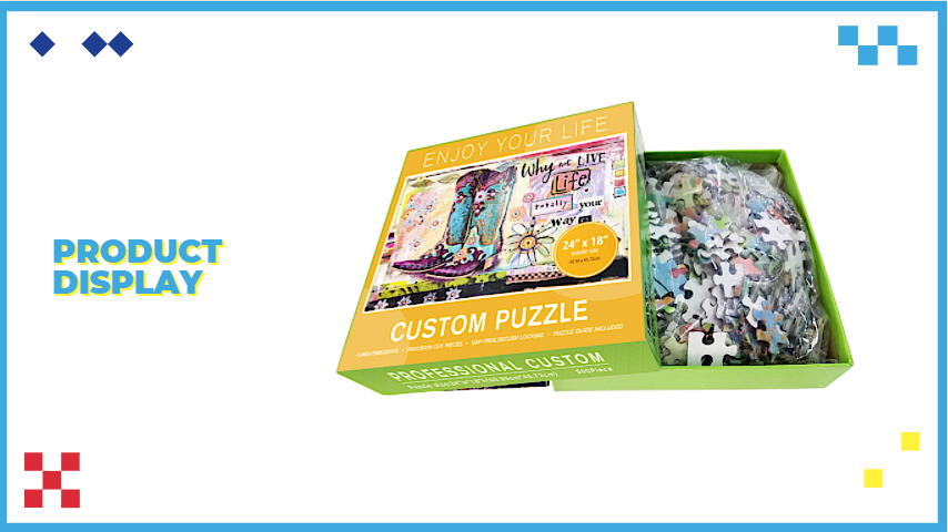 Animal Puzzle Manufacturer Supply Low Price Custom Puzzle 500 Piece Puzzle