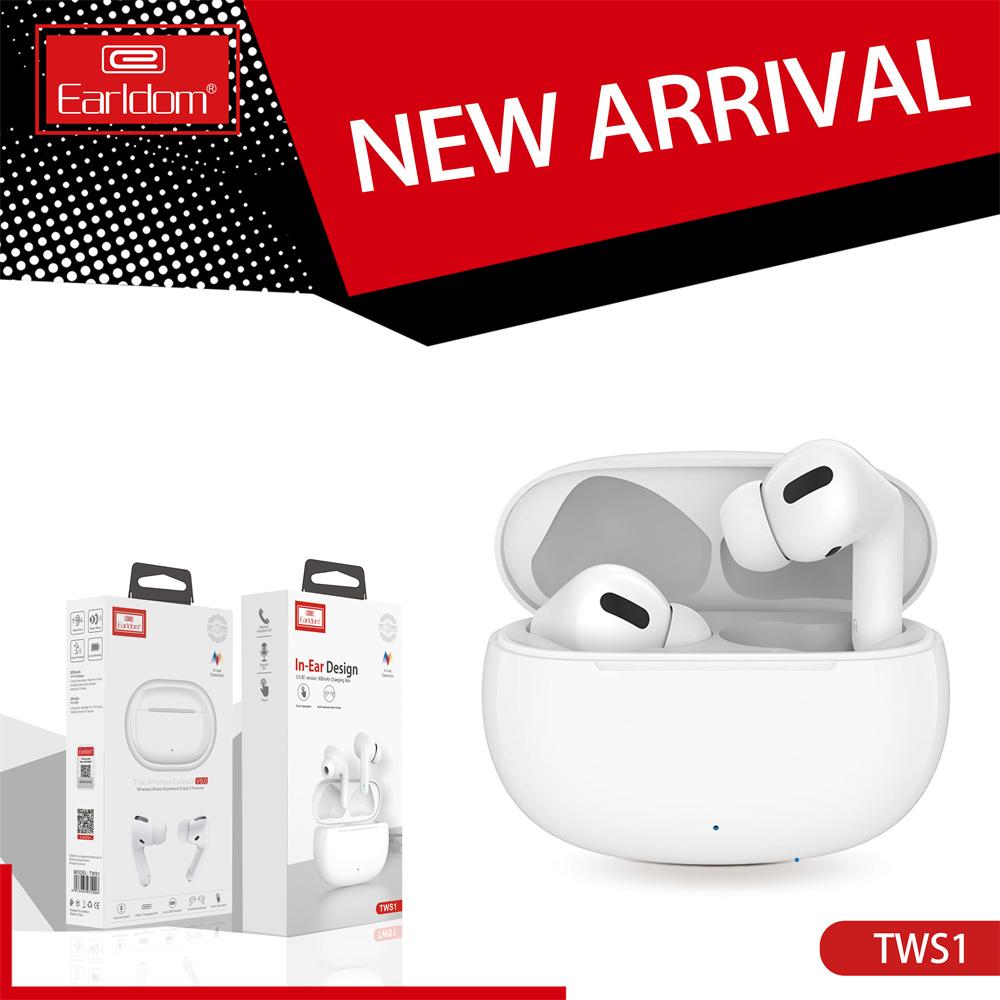 Tai nghe không dây Earldom tốt nhất Khử tai nghe không dây Blootooth Audifonos PK TWS Air Pro 3 Nhà cung cấp Earbuds