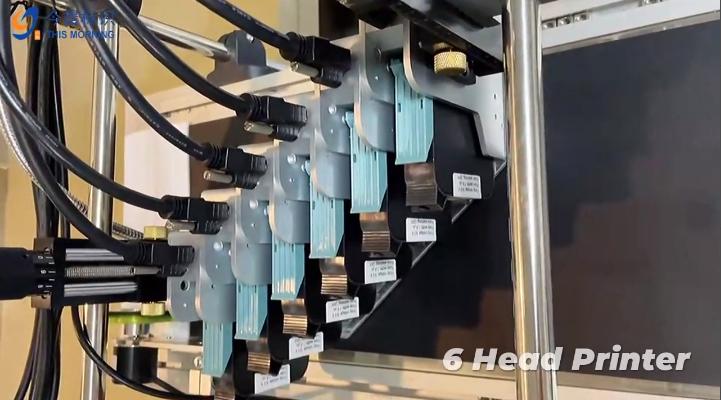 Vente en gros 6 Tête Imprimante de code de lot en ligne avec bon prix - Dongning